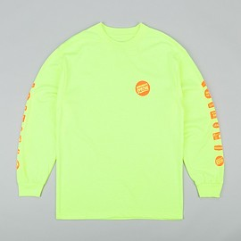 Manager's Special - Grocery Label Long Sleeve T-Shirt - Safety Green
