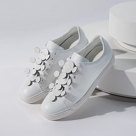 Anya Hindmarch - Anya Hindmarch Apex Low-Top Leather Trainers