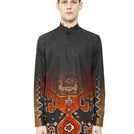 Givenchy by Riccardo Tisci - GRADIENT PRINTED COTTON POPLIN SHIRT