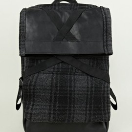 Christopher Raeburn - Check Woollen Backpack