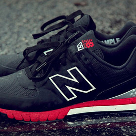 New Balance - Revlite 574 - Black/Red