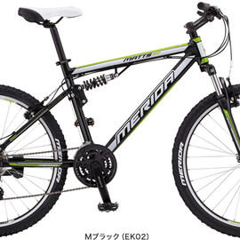 MERIDA - 2013 MATTS 20-V (W-SUSPENSION) Mブラック(EW02)