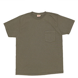 Goodwear - S/S Crew Neck Pocket Tee Custom-Folige Green