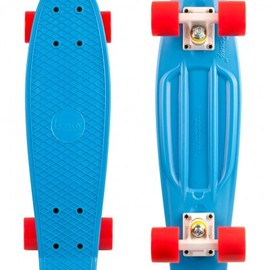 "PENNY SKATEBOARDS - 22"" BLUE WHITE RED"