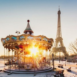 Paris, France - Morning