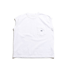 THE NORTH FACE PURPLE LABEL - 7oz N/S Pocket Tee-White
