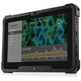 Dell - Latitude 7212 Rugged Extreme Tablet - Black