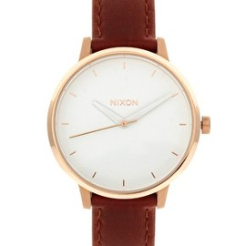 NIXON - Image 1 of Nixon Kensignton Leather Rose Watch