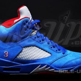Nike - NIKE AIR JORDAN 5 RETRO GAME ROYAL/GYM RED-METALLIC SILVER