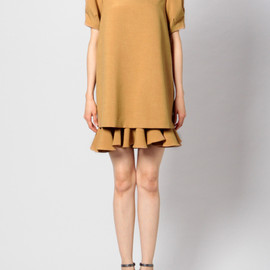 G.V.G.V. - 【G.V.G.V.】LAYERED RUFFLE HEM DRESS