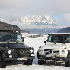 "mersedes-benz - G 500 Edition Select & G 300 Professional ""PUR"""