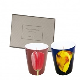 ROBERT MAPPLETHORPE - Perfumed Candles Red Tulip and Yellow Calla Lily
