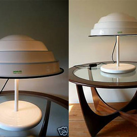 Guzzini - 1970 space age lamp