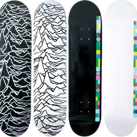 "Peter Saville - Decks for Supreme, ""Joy Division"" & ""Blue Monday"""