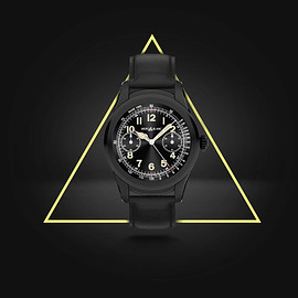 MONTBLANC - Summit - PVD Black Steel w/ Black Calf Belt