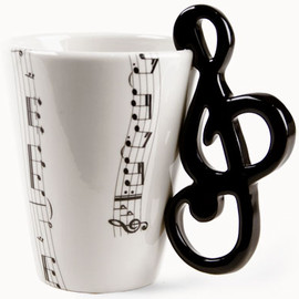 Blue Witch Ceramics - Coffee Mugs (Music)
