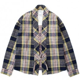 visvim - LHAMO SHIRT CHECK (YELLOW CHECK)