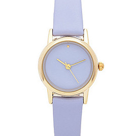 American Apparel - Grape Pastel Leather Quartz Wristwatch