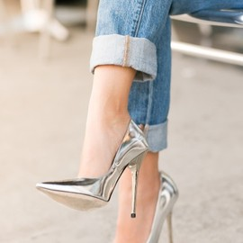JIMMY CHOO - silver