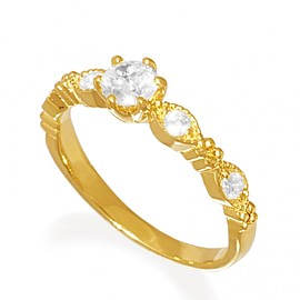 K18PG Marriage Ring