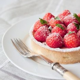 Summer Strawberry Tarts