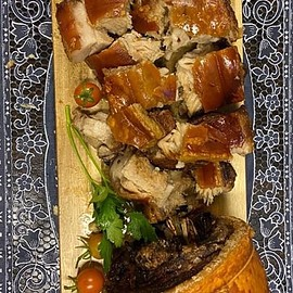 CEBU by Marie Yoshida - LECHON BELLY ROLL CEBU NOW AVAILABLE