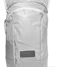 Adidas by Stella McCartney - Reflective shell and mesh backpack