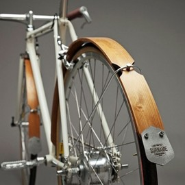 Wood Fender Bicycle