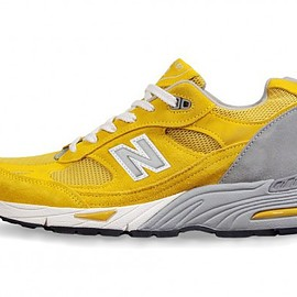 "New Balance - M991 ""Yellow"" Made in England"