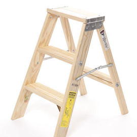 MICHIGAN LADDER COMPANY - 2 Step Wood Ladder