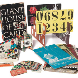 EAMES - GIANT HOUSE OF CARDS