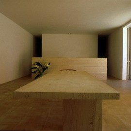 Claudio Silvestrin - House in Majorqua, Dining room