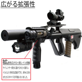 TOKYO MARUI, FIRST FACTORY - Shadow Steyr w/ FlashLight & Scope