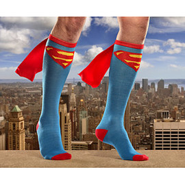 ThinkGeek - Superman Caped Socks
