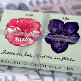 Rococo Chocolates - Rose & Violet Selection Box