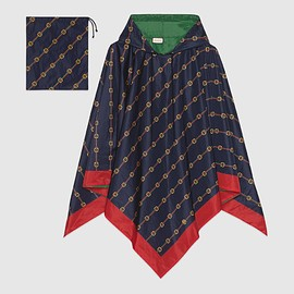 GUCCI - Light Reversible nylon poncho