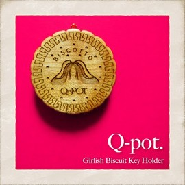 Q-pot. - Biscuit Key Holder