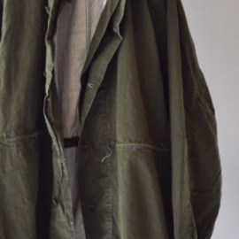 us army - 1960s Vintage U.S.COAT,VESICANT GAS PROTECTIVE