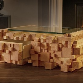 Alexander Purcell - Log Pile Coffee Table