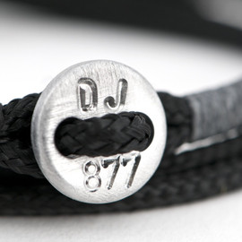 877shop - Mens cross bracelet with custom engravure