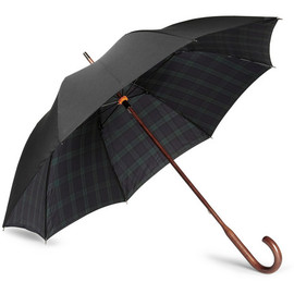 London Undercover - Plaid-Lined Umbrella