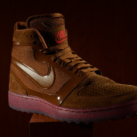 Nike - Trainer Clean Sweep - Light British/Tan/Gym Red