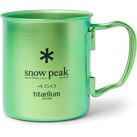Snow Peak - Single-Wall Titanium Mug, 450ml