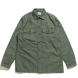 orSlow - Unisex US Army Shirts-Green