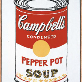 Andy Warhol - Campbell's Soup Can (Pepper Pot)