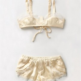 Anthropologie lingerie