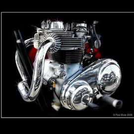 Matchless - G12 Deluxe 650 Engine