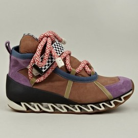 Bernhard Willhelm x Camper - Bernhard Willhelm x Camper Together Suede Sneakers