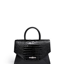 GIVENCHY - New Obsedia medium croc-embossed leather tote