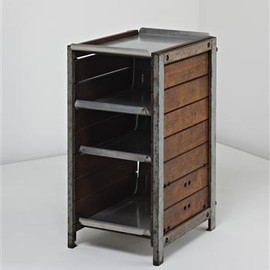 Air France - Small Cabinet, from the Air France Building, Brazzaville, Congo, Designed by Charlotte Perriand